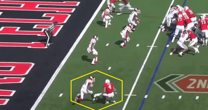 Matt Waldman's RSP Boiler Room No.184: WR Antoine Wesley (Texas Tech) One Play Sets Up Another